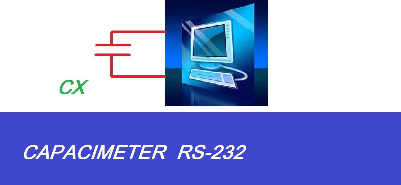 CAPACÍMETRO USANDO PORTA SERIAL DO PC (EXPERIMENTAL) – COM PIC 12F675 (REF 159)