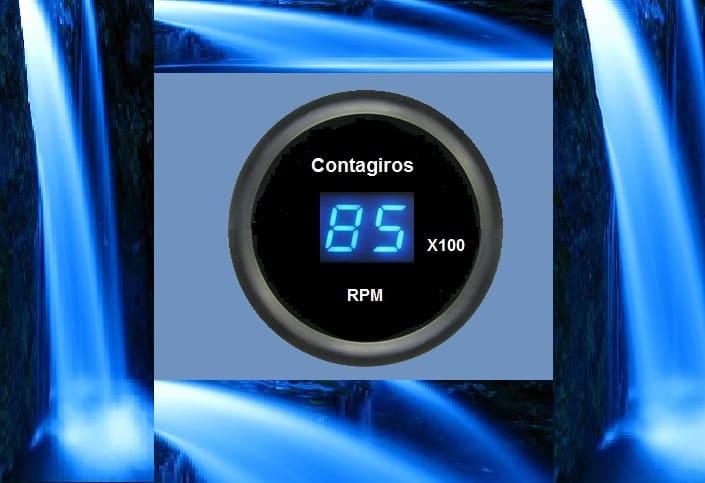 CONTAGIROS P/ MOTOS – C/ ATTINY2313 (REF309)