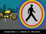 BLOQUEADOR VEICULAR  COM SENSOR DE PRESENÇA – C/ PIC12F675 (REF343)